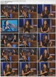 Katharine McPhee Legshow on Jimmy Kimmel 2008.07.30.