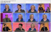 "CAROLINE RHEA - ""Hollywood Squares"" - *blue top cleave*"
