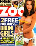 Keeley Hazell  - topless again in ZOO (28thApril 06 edition)