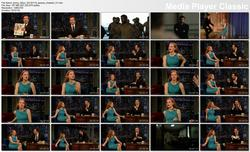 Jessica Chastain @ Late Night w/Jimmy Fallon 2013-01-18