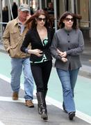 Ashley Greene shops for furniture with parents in NYC 19-03-2011